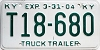 2004 KENTUCKY Truck Trailer license plate # T18-680