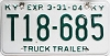 2004 Kentucky Truck Trailer # T18-685