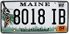 2004 Maine graphic # 8018 IB