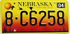 2004 Nebraska graphic # C6258, Hall County