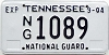 2004 Tennessee National Guard # 1089