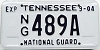 2004 Tennessee National Guard # 489A