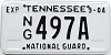 2004 Tennessee National Guard # 497A