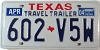 2004 TRAVEL TRAILER license plate # 602-V5W