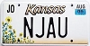 2005 Kansas Sunflower graphic # NJAU, Johnson County