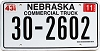 2005 Nebraska Commercial Truck # 2602, Clay County