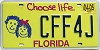 2005 Florida Choose Life graphic # CFF4J
