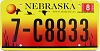 2005 Nebraska graphic # C8833, Madison County