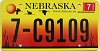 2005 Nebraska graphic # C9109, Madison County