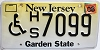 2005 New Jersey disabled # 7099