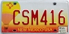 2005 New Mexico Balloon graphic # CSM416