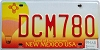 2005 NEW MEXICO BALLOON graphic license plate # DCM780