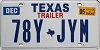 2005 TEXAS TRAILER license plate # 78Y-JYM