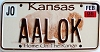 2006 Kansas Buffalo graphic # AALOK, Johnson County