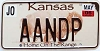2006 Kansas Buffalo graphic # AANDP, Johnson County