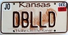 2006 Kansas Buffalo graphic # DBLLD, Johnson County