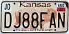 2006 Kansas Buffalo graphic # DJ88FAN, Johnson County