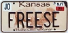 2006 Kansas Buffalo graphic # FREESE, Johnson County