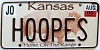 2006 Kansas Buffalo graphic # HOOPES, Johnson County