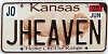 2006 Kansas Buffalo graphic # JHEAVEN, Johnson County