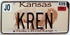 2006 Kansas Buffalo graphic # KREN, Johnson County