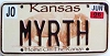 2006 Kansas Buffalo graphic # MYRTH, Johnson County