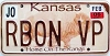 2006 Kansas Buffalo graphic # RBON VP, Johnson County