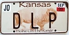 2006 Kansas Buffalo graphic # D L P, Johnson County
