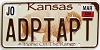 2006 Kansas Buffalo graphic # ADPTAPT, Johnson County