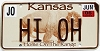 2006 Kansas Buffalo graphic # HI OH, Johnson County