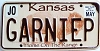2006 Kansas Buffalo graphic # GARNIEP, Johnson County