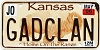 2006 Kansas Buffalo graphic # GADCLAN, Johnson County