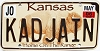 2006 Kansas Buffalo graphic # KADJAIN, Johnson County