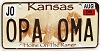 2006 Kansas Buffalo graphic # OPA OMA, Johnson County