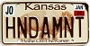 2006 Kansas Buffalo graphic # HNDAMNT, Johnson County