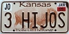 2006 Kansas Buffalo graphic # 3 HI JOS, Johnson County