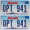 2006 Nebraska Wagon graphic pair # OPT-941