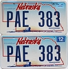 2006 Nebraska Wagon graphic pair # PAE-383
