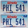 2006 Nebraska Wagon graphic pair # PHI-541