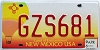 2006 New Mexico Balloon graphic # GZS681