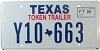 2006 TEXAS TOKEN TRAILER license plate # Y10-663