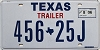 2006 TEXAS TRAILER license plate # 456-25J
