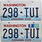 2006 Washington pair # 298-TUI