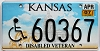 2007 Kansas Disabled Veteran graphic # 60367