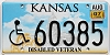 2007 Kansas Disabled Veteran graphic # 60385