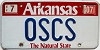 2007 Arkansas Natural State Vanity # OSCS