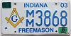 2007 Indiana Freemason graphic # 3868