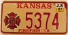 2007 Kansas Firefighter graphic # 5374