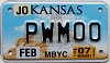 2007 Kansas Moped # PWM00, Johnson County