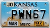 2007 Kansas Moped # PWN67, Johnson County